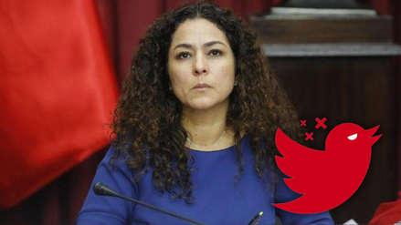 Cecilia Chacón celebró la victoria de Perú sobre Chile con la bandera de Austria y recibió estas críticas