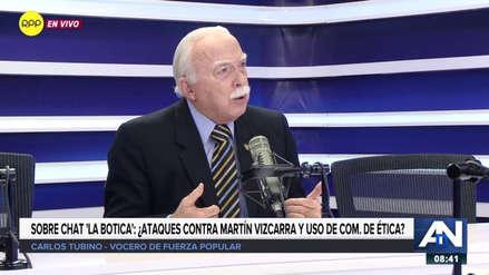 """Carlos Tubino sobre 'La Botica': """"Quisiera ver los chats de los demás"""""""