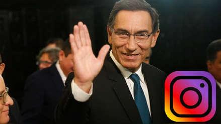 Presidente Martín Vizcarra inauguró su cuenta oficial de Instagram con estas imágenes