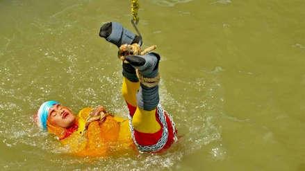 El trágico final del mago que se metió encadenado al río para imitar a Houdini