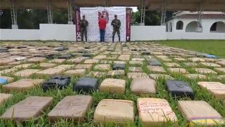 Más de 1,5 toneladas de marihuana incautada tras dos operaciones en Colombia