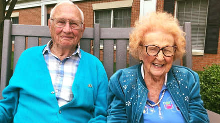 Para el amor no hay edad: Ella tiene 102 años, él tiene 100 y acaban de casarse en EE.UU.