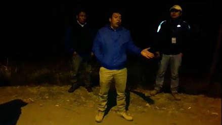 Ronderos retienen seis horas a alcalde de Santiago de Chuco previo a elecciones municipales