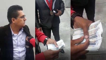 Fiscal provincial fue detenido con cinco mil soles de coima en el Callao