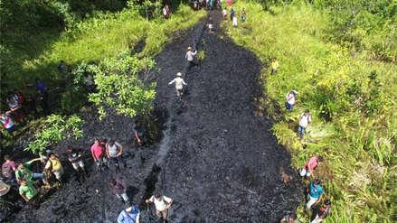 Petroperú denunció que pobladores tomaron estación del Oleoducto Norperuano por derrame de petróleo