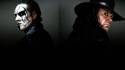"""Imagina"": WWE insinúa una lucha entre The Undertaker y Sting"
