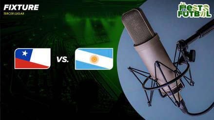 Argentina vs. Chile: RPP transmitió el partido por el tercer lugar de la Copa América 2019
