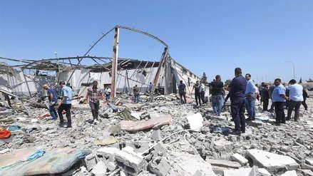 Más de mil personas han muerto en tres meses de combates en Trípoli