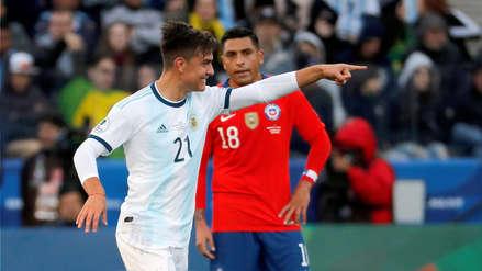 ¡Golazo! Paulo Dybala marcó el segundo gol de Argentina en el partido ante Chile