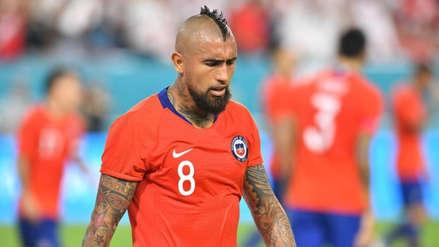 Vidal criticó arbitraje tras partido: