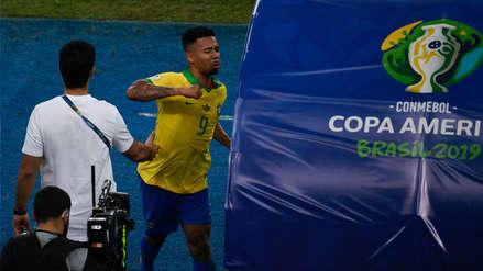 Gabriel Jesus se pronunció tras el incidente con el VAR en el Brasil vs. Perú