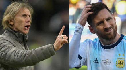 Ricardo Gareca a Lionel Messi: