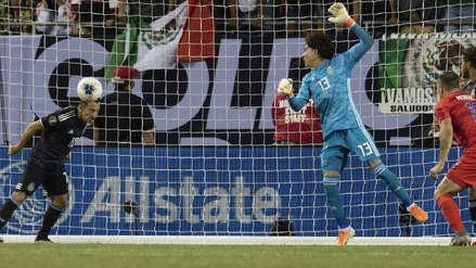 ¡Lo sacó en la línea! Andrés Guardado se vistió de arquero y evitó el primer gol de Estados Unidos