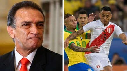 Héctor Becerril responsabilizó a Yoshimar Yotún por segundo gol de Brasil en la final
