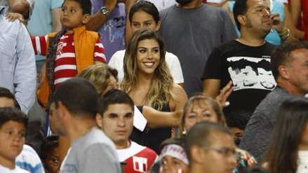 Así celebró Alondra García Miró el gol de Paolo Guerrero en la final de la Copa América