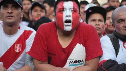 El rostro de tensión de los hinchas de la bicolor en la final de la Copa América 2019