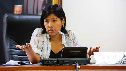 Indira Huilca sobre caso Arlette Contreras: