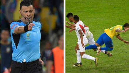 La explicación del árbitro Roberto Tobar del penal cobrado a Brasil en la final de la Copa América
