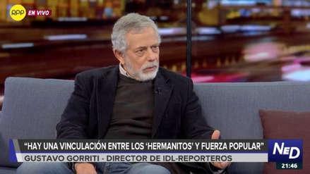 Gustavo Gorriti dice que pérdida de eficiencia investigativa a 'Cuellos blancos' permitió una