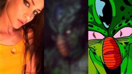 Dragon Ball Super | ¡Perturbador! Chica hace cosplay hiperrealista de Cell