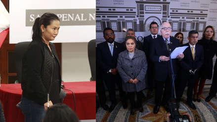 Fuerza Popular dice que Keiko Fujimori es