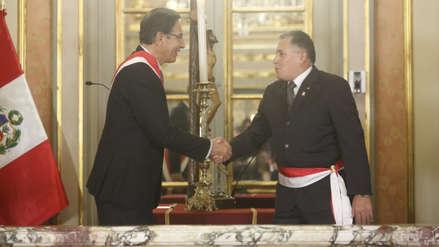 Jorge Moscoso Flores juró como nuevo ministro de Defensa