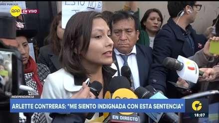 Arlette Contreras apelará fallo:
