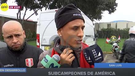 """Yoshimar Yotún tras llegar a Lima: """"Hemos vuelto a poner al Perú en alto"""""""
