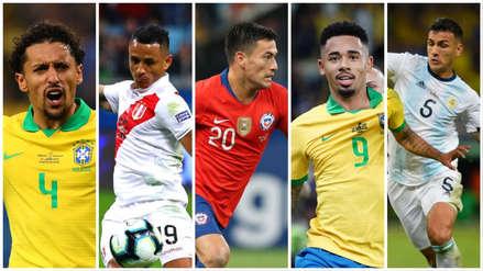 El once ideal de la Copa América 2019 con tres peruanos y sin Lionel Messi