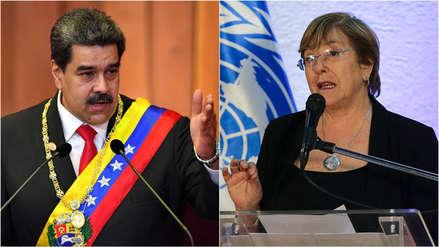 Maduro exige a Bachelet que rectifique las
