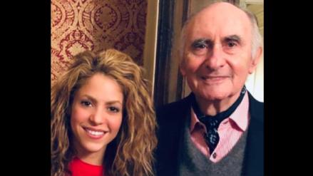 """Shakira se despide de su exsuegro Fernando de la Rúa: """"Vuela hacia un mejor lugar donde no hay traiciones"""""""