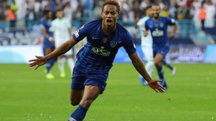 ¡Seguirá en Arabia! Al Hilal renovó préstamo de André Carrillo por una temporada, según prensa portuguesa
