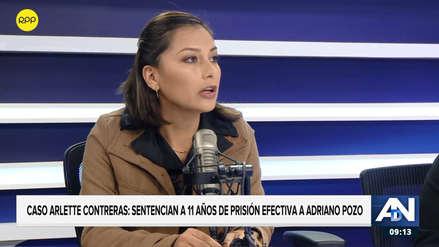 Arlette Contreras denuncia que sufre violencia institucional desde que comenzó juicios contra Adriano Pozo