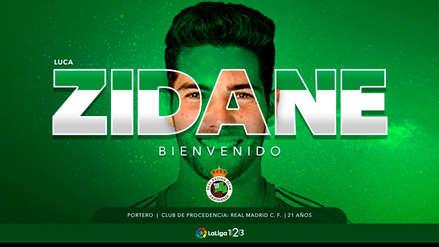 ¡Lo dejó ir! Real Madrid cedió a Luca Zidane al Racing de Santander