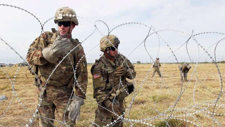 Estados Unidos solicitó 1.000 soldados adicionales para manejar crisis migratoria en Texas