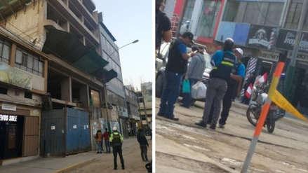 Albañil falleció tras caer del décimo piso de un edificio en construcción en Gamarra