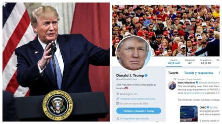 Corte de EE.UU. decide que Trump no puede bloquear a usuarios en Twitter