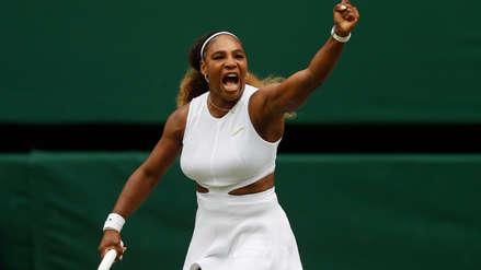Serena Williams fue multada con 10 mil dólares en Wimbledon por dañar una pista