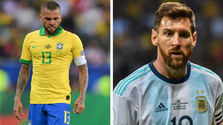 Dani Alves disparó contra Lionel Messi: