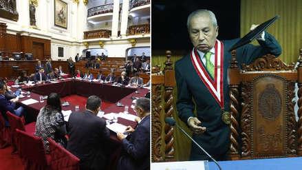 Comisión Permanente rechazó cuestión previa para que denuncias contra Chávarry retornen a subcomisión