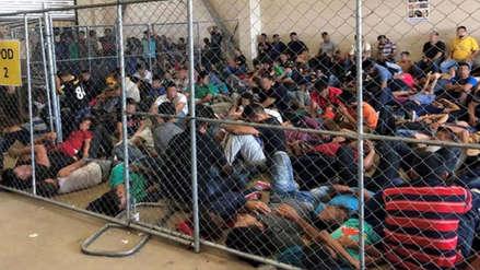 """""""Espantoso y repugnante"""" Así son retenidos los migrantes en los centros de detención de EEUU [FOTOS]"""