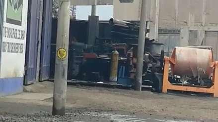 Después de cuatro horas controlan fuga de gas cloro en Trujillo