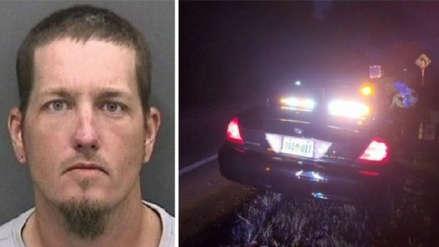 Jugó a ser policía en la carretera, paró a un policía de verdad y esto fue lo que le pasó