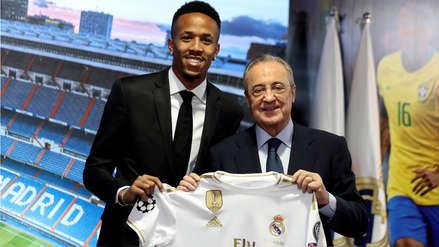 Real Madrid presentó a su nuevo jugador, el brasileño Eder Militao
