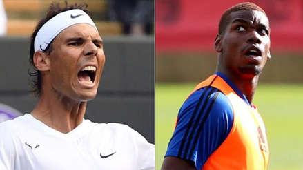 Real Madrid: Paul Pogba recibió un 'dardo' de Rafael Nadal por su posible fichaje