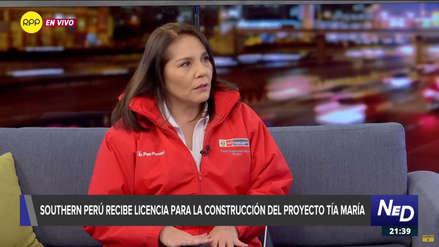 Titular del Midis ante eventuales bloqueos por Tía María: