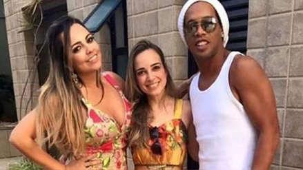 Ronaldinho fue acusado de agresión por su expareja