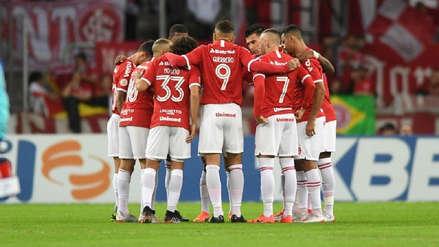 Con Paolo Guerrero de titular, Internacional perdió 1-0 ante Palmeiras por los cuartos de final de la Copa Brasil