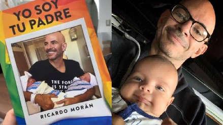 """Ricardo Morán comparte la portada de su libro """"Yo soy tu padre"""" que presentará en FIL Lima 2019"""