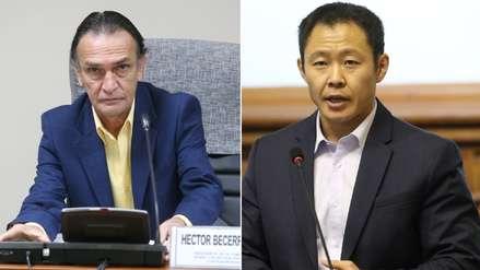 Becerril a favor del regreso de Kenji Fujimori y otros exfujimoristas para